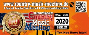 Country Music Meeting 2020 @ Fontane Haus | Berlin | Berlin | Germany