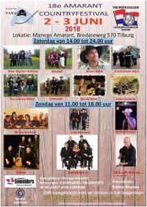 Amarant Country Festival @ Manege Amarant | Tilburg | Noord-Brabant | Netherlands
