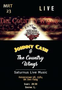 Johnny Cash & The Country Wings @ Saturnus Live Music