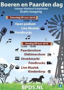 Boeren en Paardendagen Schipluiden @ Ijsclub Vlieland